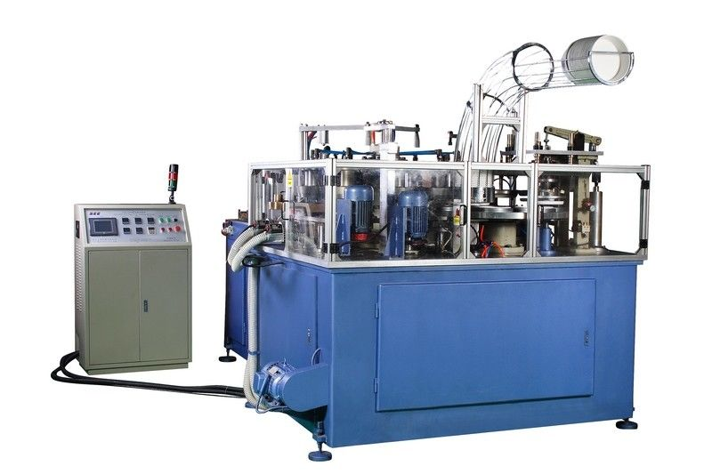 SCM-3000-I 80pcs/min 19KW Rated Power Servo Control Large Dimension Paper Bowl Machine