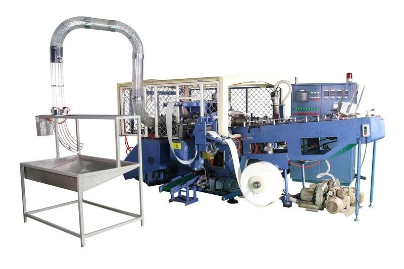 SCM-H1 35kw Rated Power High Speed Automatic Paper Bowl Machine / Equipment with Heating System Sealing