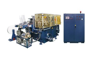 45kw 100pcs/min Automatic Paper Can forming machine with hot air sealing