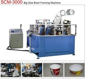 19KW 80pcs/min Paper Bowl Machine Servo Control Large Dimension Ultrasonic Sealing