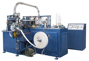 SCM-600 20kw Rated Power Automatic Paper Cup Machine / Making Machinery For Drinking Cups Food Containers